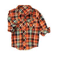 Фланелевая рубашка для мальчика 18-24 месяца, 2 года.