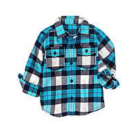 Детская фланелевая рубашка. 12-18 месяцев