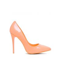 Туфли женские на шпильке 35-40 оранжевые