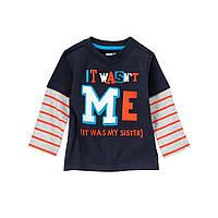 Детский реглан для мальчика 12-18 месяцев
