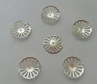 Обниматель бус, 15 мм, серебро