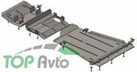 Кольчуга Защита двигателя, КПП, радиатора и рулевых тяг переднего моста Suzuki Jimny JB 2012-