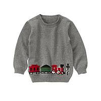 Детский свитер для мальчика. 6-12  месяцев