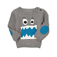 Детский свитер для мальчика  6-12, 12-18 месяцев