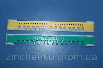 Летковый заградитель 2-Х элементный пластмассовый, длина -250 мм