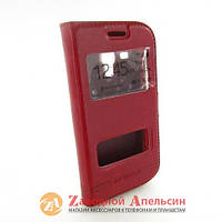 Чехол книжка Samsung S7562 S7560 S7572 Smart Case red
