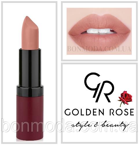 Матовая Помада Golden Rose 1 Velvet Matte № 01