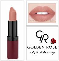 Матовая Помада Golden Rose 1 Velvet Matte № 01 , фото 1