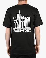Мега Футболка мужская с принтом Pass Port B.Y.O.