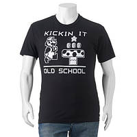"""Мега Футболка мужская с принтом Super Mario Bros. Kickin It Old School"""""""""""