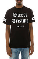 Мега Футболка мужская с принтом Street Dreams OE Logo