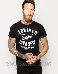 Мужская Футболка Edwin Originals Front and Back Print