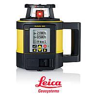 Автоматический ротационный нивелир Leica Rugby 880 RE160 + батарея и пульт дистанционного управления