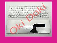Клавиатура для ноутбука ASUS K52F белая