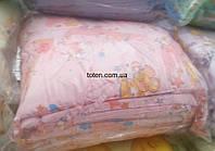 Защита для детской кроватки Розовая