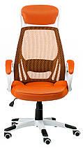 Крісло офісне Special4You Briz orange, фото 2