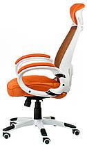 Крісло офісне Special4You Briz orange, фото 3