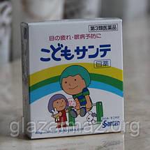 Kodomo Sante мягкие детские капли для глаз из Японии с таурином и витамином B6, фото 3