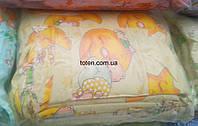 Защита для детской кроватки Мишки на луне