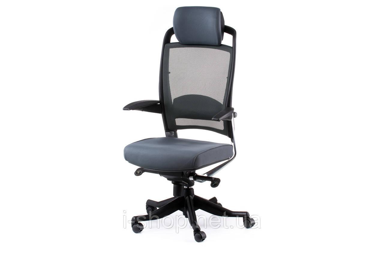Крісло офісне Special4You FULKRUM SLATEGREY FABRIC, SLATEGREY MESH