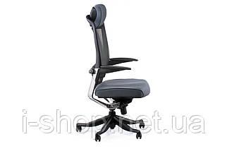 Крісло офісне Special4You FULKRUM SLATEGREY FABRIC, SLATEGREY MESH, фото 3