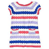 Детское вязаное платье для девочки 12-18, 18-24 месяца, 2 года