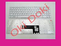 Клавиатура для ноутбука Sony SVF152 белая без подсветки
