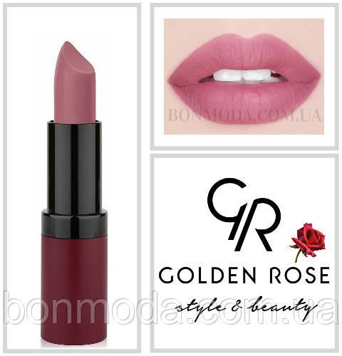 Матовая Помада Golden Rose 2 Velvet Matte № 02