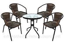 Комплект садовой мебели BISTRO 4 стула + столик