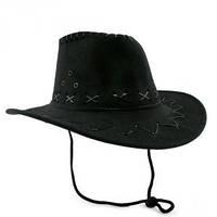 Шляпа Ковбоя Детская черная