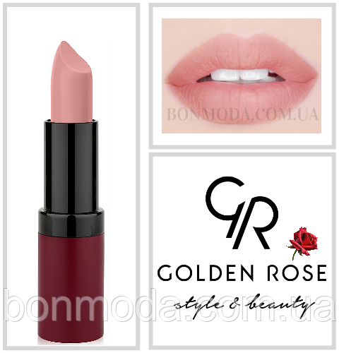 Матовая Помада Golden Rose 3 Velvet Matte № 03