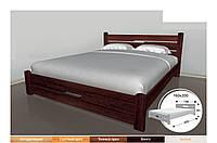 """Кровать деревянная двуспальная """"Виктория"""""""