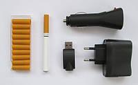 Электронная сигарета с 10 картриджами и USB-зарядкой