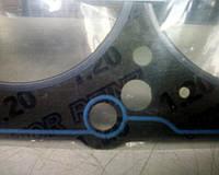 Оригинальная прокладка головки цилиндров GM# 96391433 двигателя A15SM 8-кл Ланос 1.5 Victor Reinz для ГБЦ SOHC