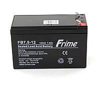 Аккумуляторная батарея Frime FB7.5-12 AGM VRLA
