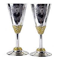 """Бокалы для шампанского """"Свадебные"""" (2 шт.)"""