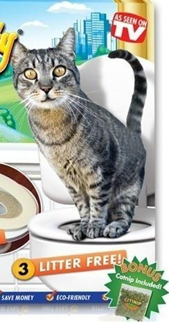 Система домакот туалет для кошек на унитаз обучающий