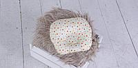 Подушка для новорожденных Звездочки цветные