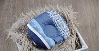 Подушка для новорожденных Индиго