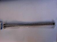 Шланги подводящие из нержавеющей гофро трубы 30см.