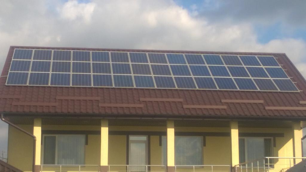 Солнечная электростанция 10 кВт. Зеленый тариф.