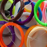 Набор ABS пластика для 3D ручки (8 цветов по 10 метров)