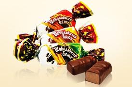 Конфеты шоколадный блюз с ароматом Амаретто 3 кг. ТМ ЗКФ