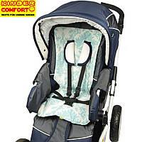 Вкладыш-матрасик в коляску («Kinder Comfort», дизайн 3)