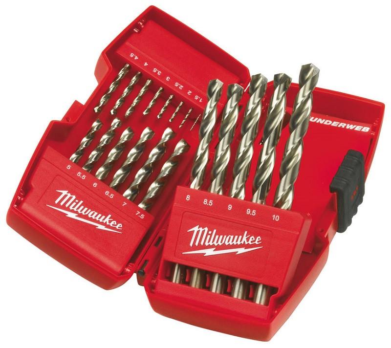 Набор свёрл Milwaukee по металу (кобальт) 19шт 4932352374