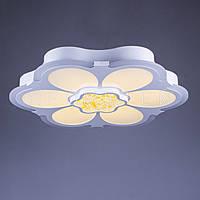 LED люстра с пультом управления P7-1612/540/white