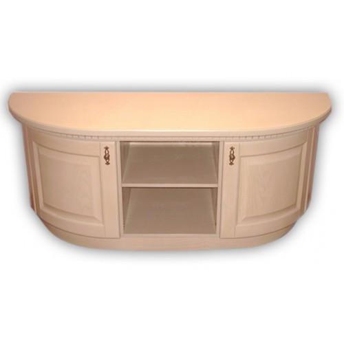 Тумба под телевизор Элма 2-х радиусная   РКБ-Мебель, цвет на выбор