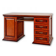 Стол компьютерный Секретарь 1,35 цвет на выбор, РКБ-Мебель