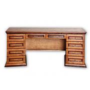 Стол письменный из массива дерева  Консул 2,0   РКБ-Мебель, цвет на выбор