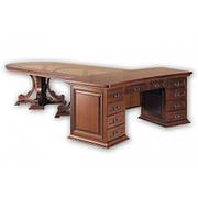 Стол руководителя из массива дерева  Президент  3,55 РКБ-Мебель,  цвет на выбор